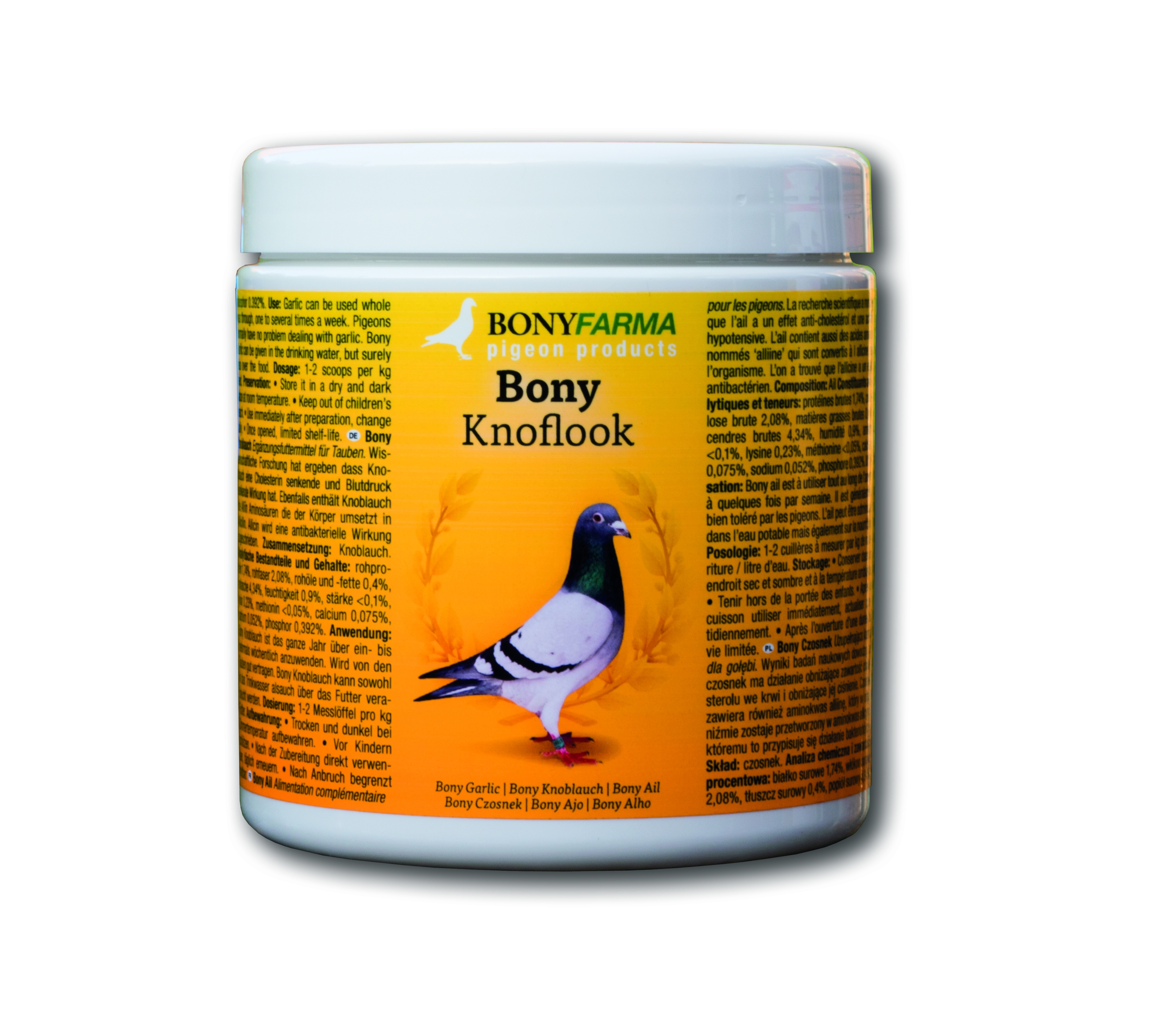 Bony Knoflook (350 ml.)