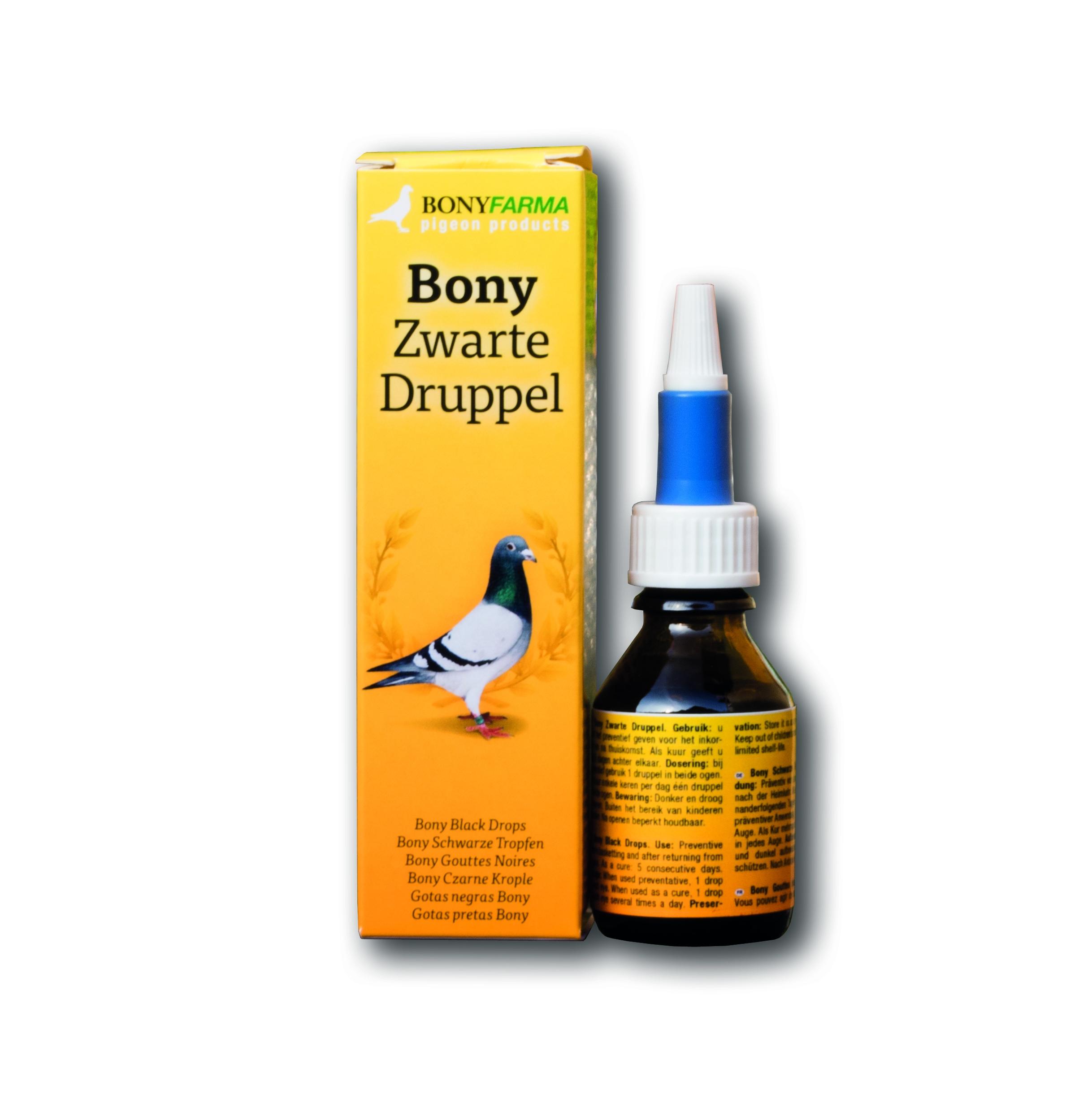 Bony Zwartedruppel (20 ml.)